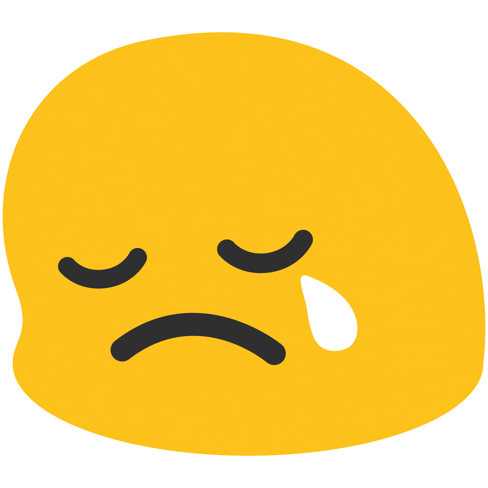 Emoticon Very Sad transparent PNG - StickPNG Sad Emoji