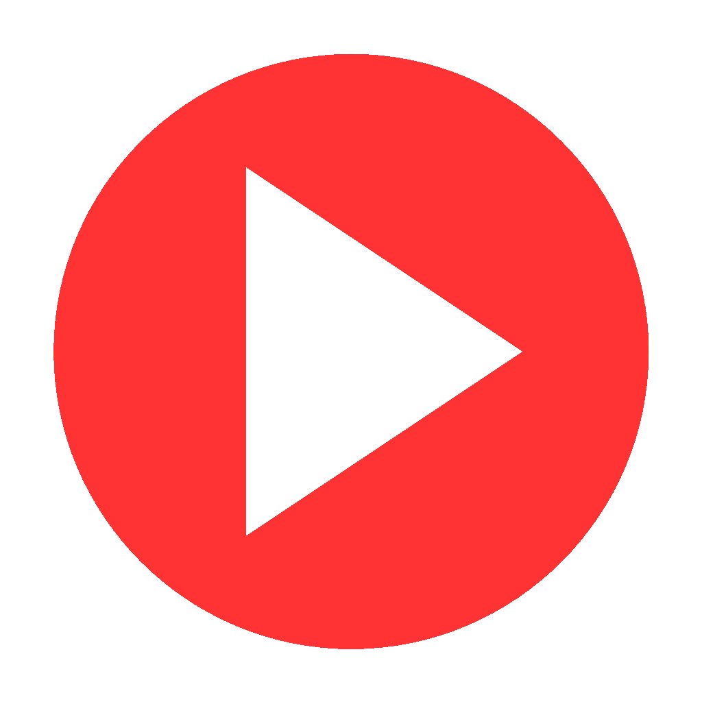 play red button transparent png stickpng