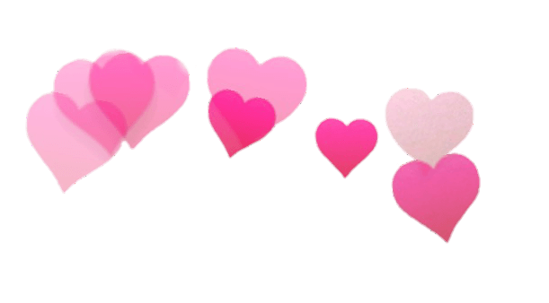 Snapchat Filter Hearts transparent PNG - StickPNG