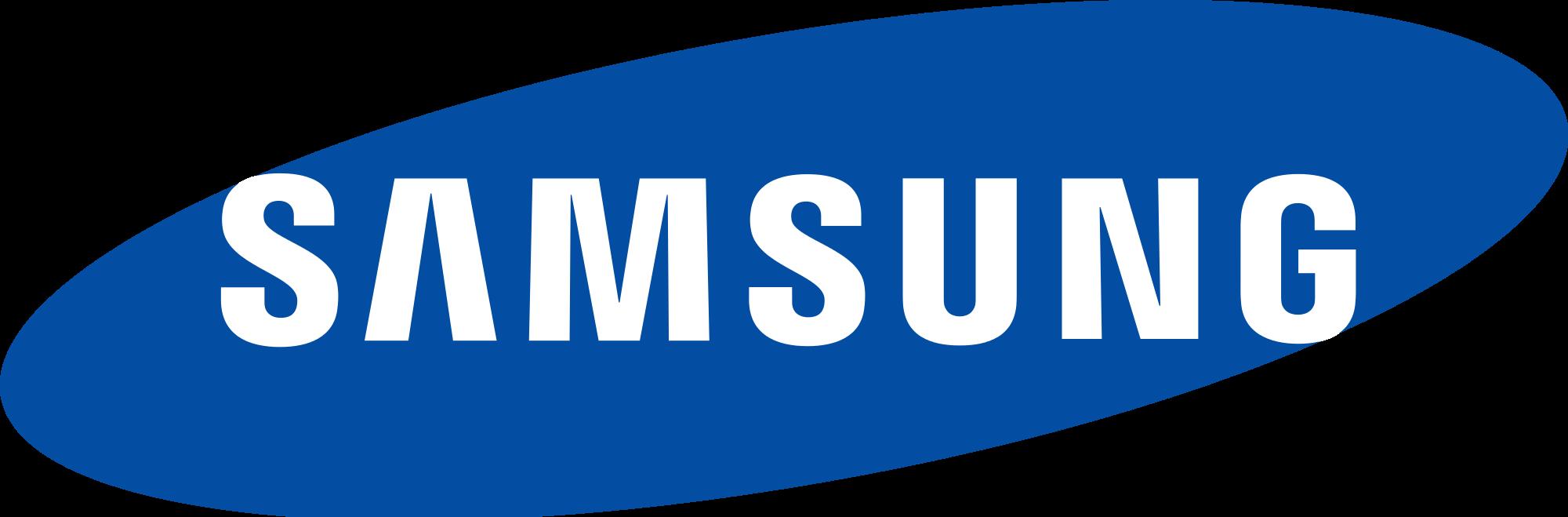samsung logo transparent png stickpng