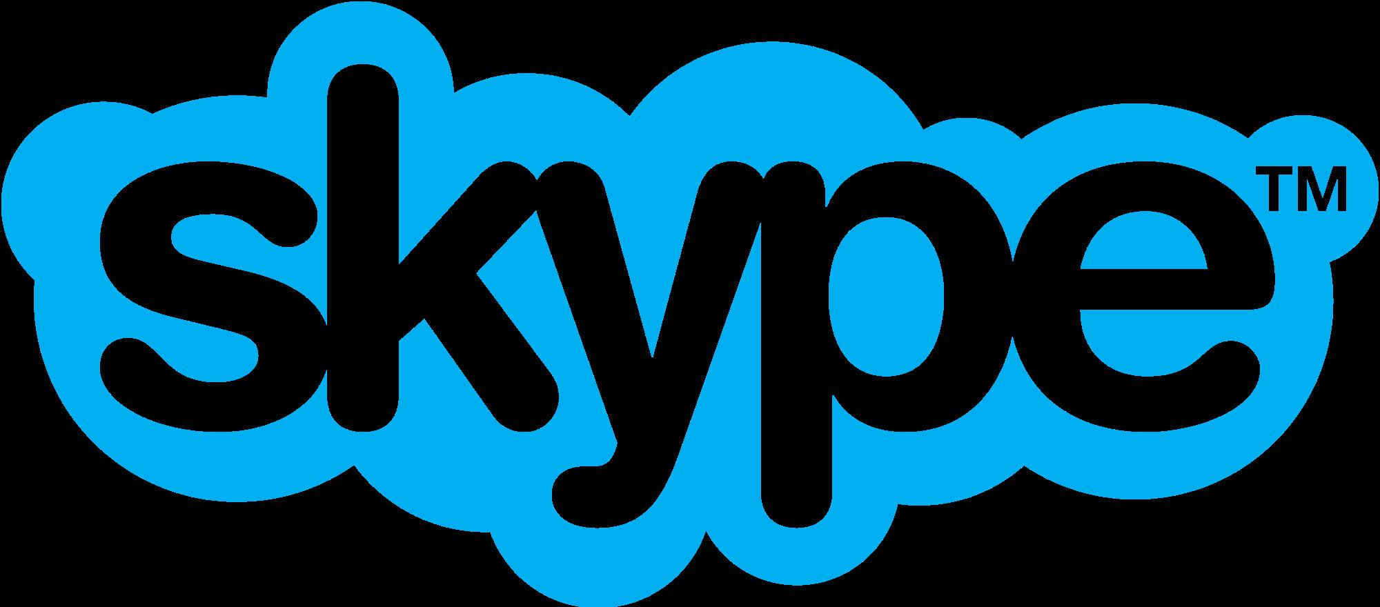 Transparent Background Logo Skype Icon