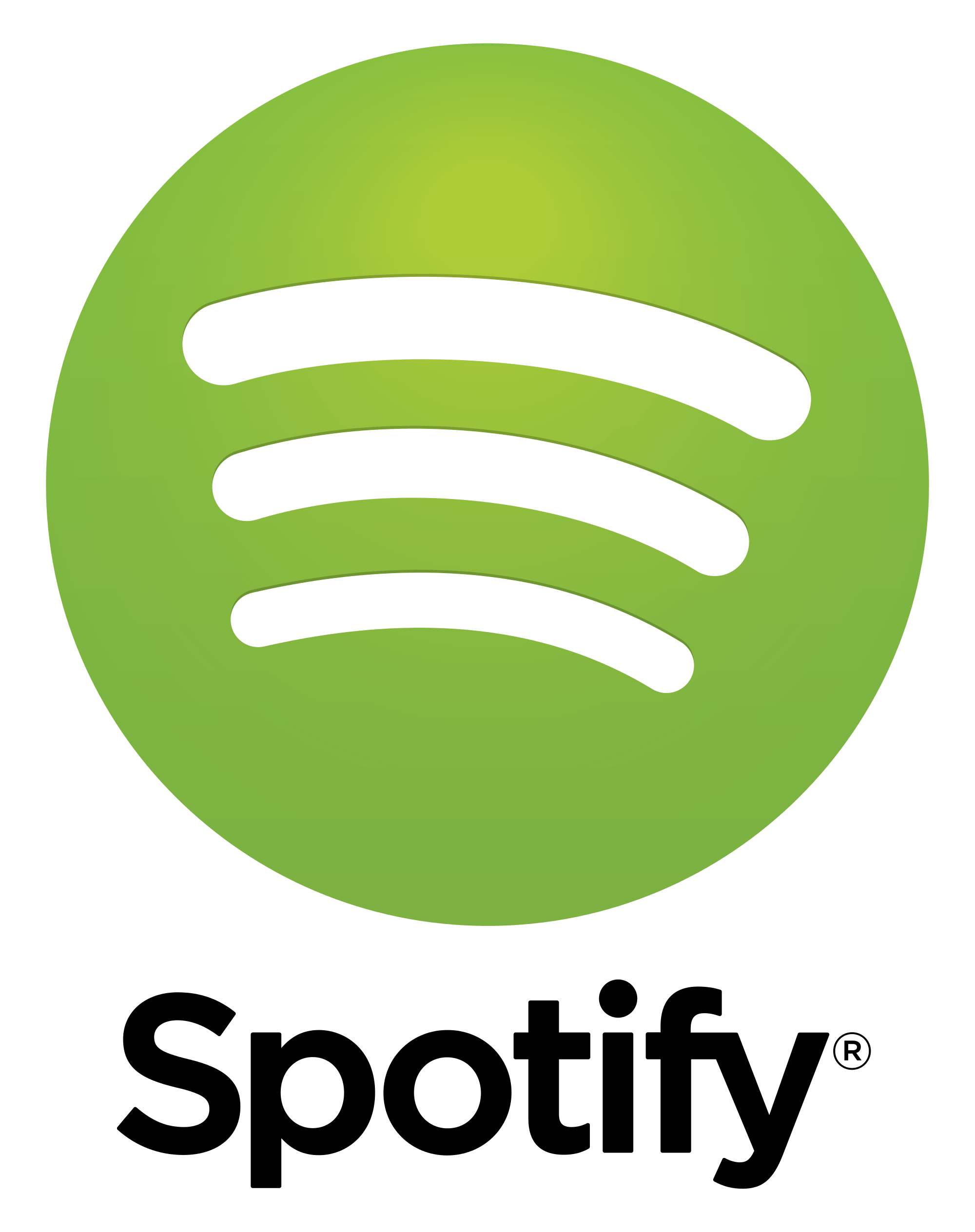 Image result for spotify logo transparent