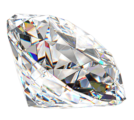 transparent diamonds
