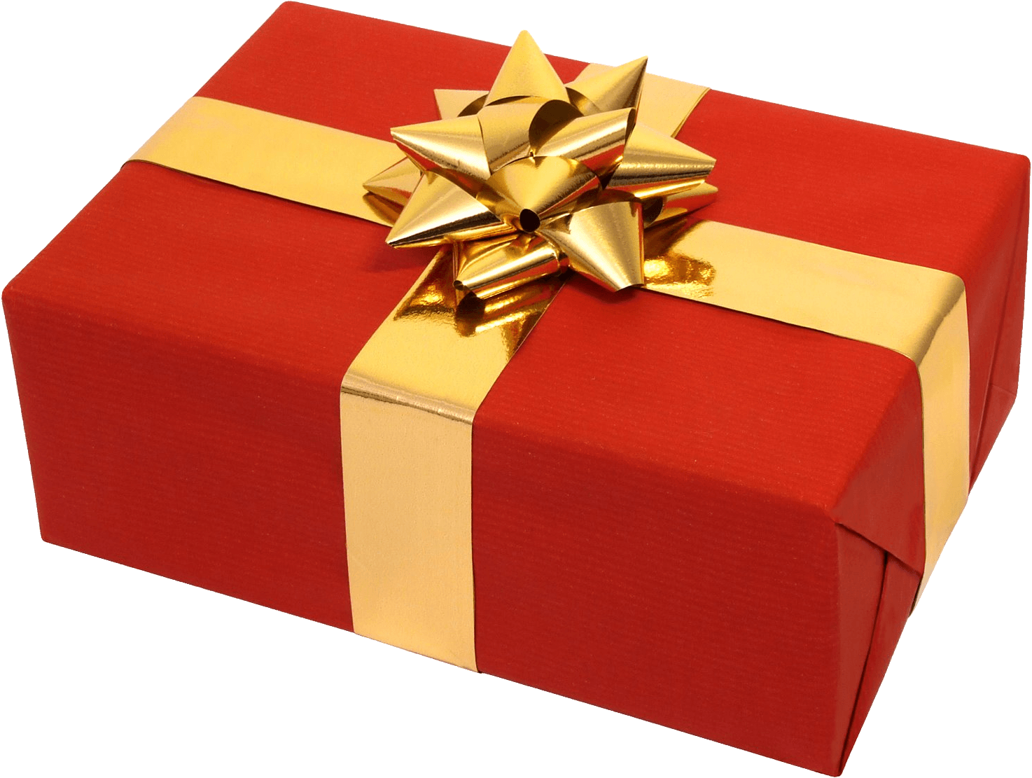 Red gold gift transparent png stickpng miscellaneous gifts negle Image collections