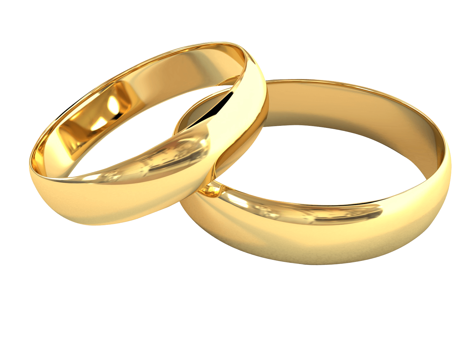 Pair Of Wedding Rings Jewelry Transparent Png Stickpng