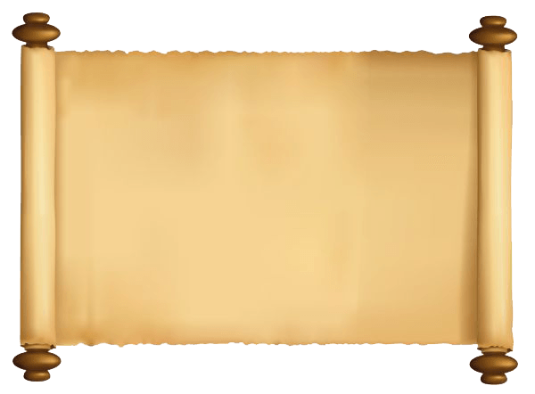 Scroll Paper Sacred Transparent Png Stickpng