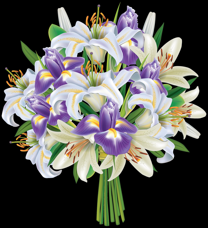Iris purple bouquet transparent png stickpng iris purple bouquet izmirmasajfo Images
