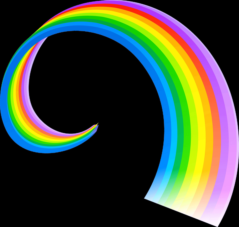 Arc En Ciel Spirale Png Transparents Stickpng