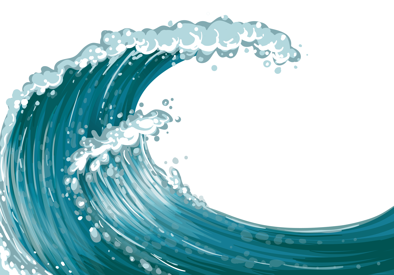 Transparent Background Ocean Waves Png - Resenhas de Livros