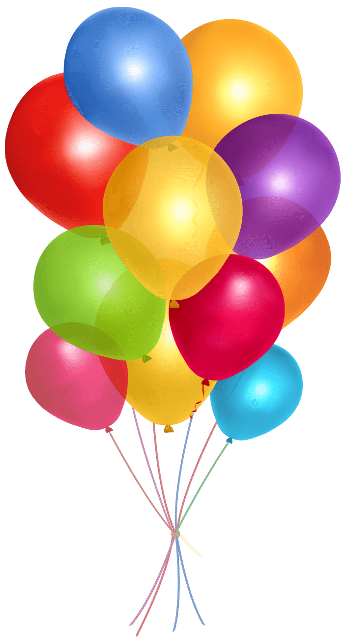 Simple Group Balloons transparent PNG - StickPNG  Balloons