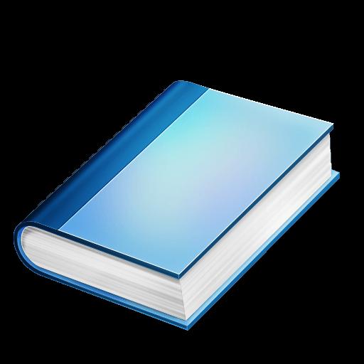 Livre Bleu Png Transparents Stickpng