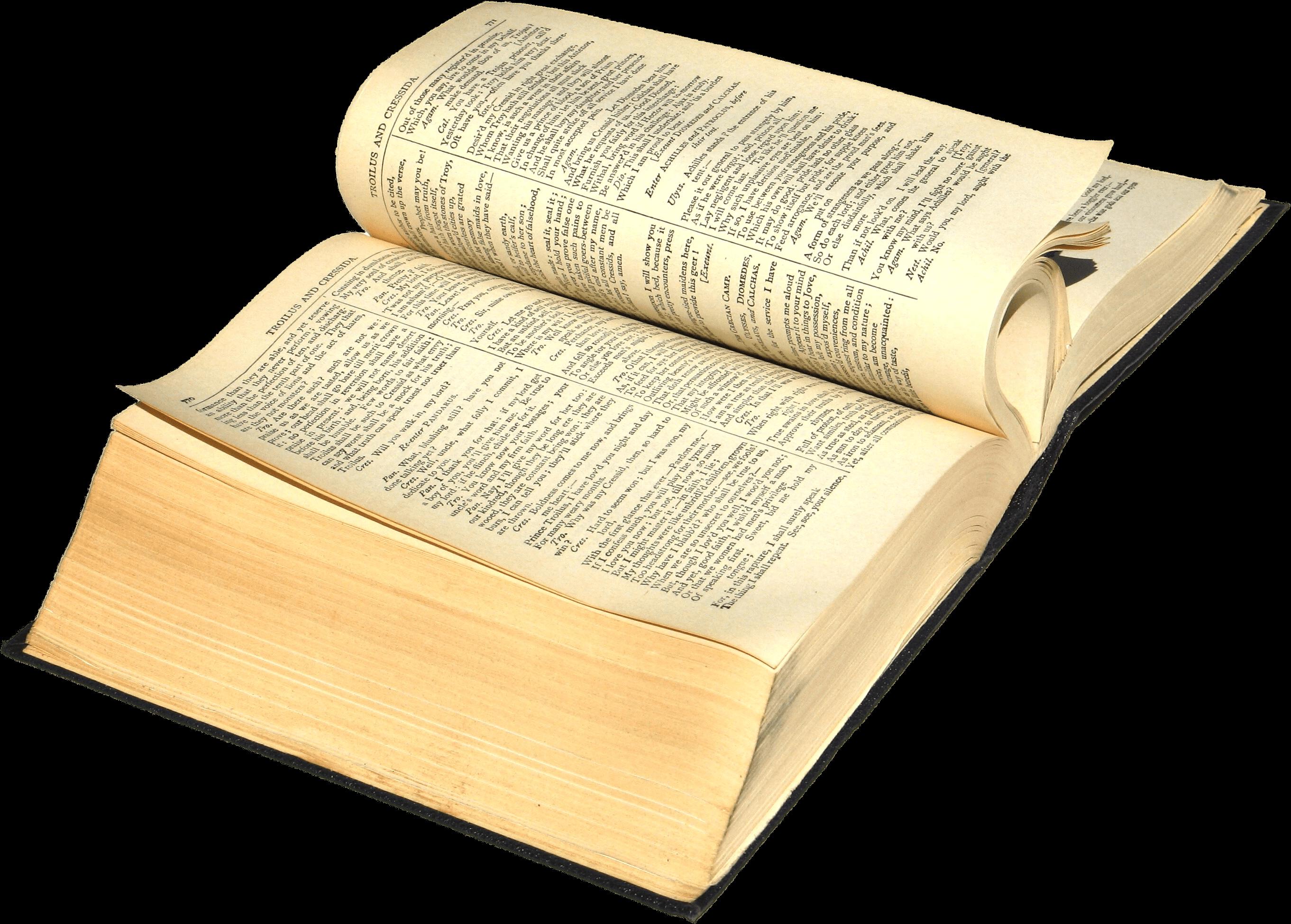 Ancien Livre Ouvert Png Transparents Stickpng