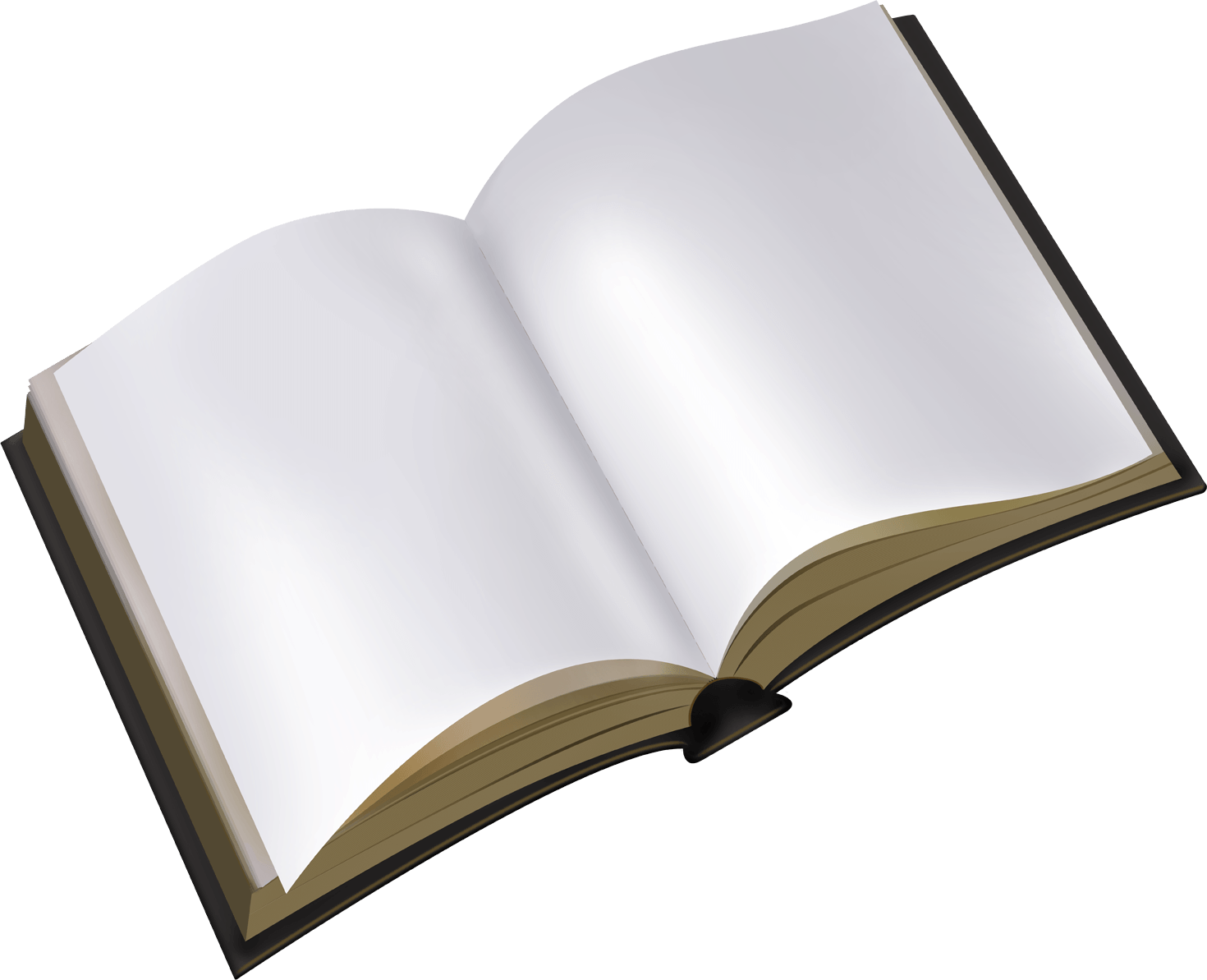 Book Old Open Transparent PNG