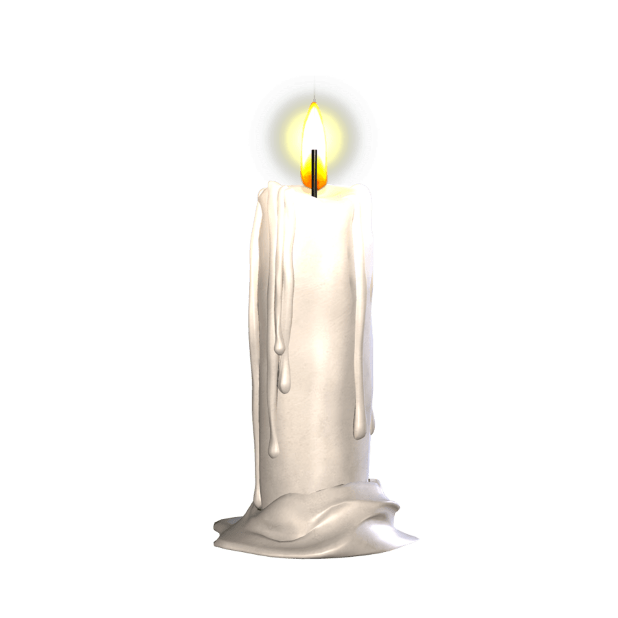 Candle Single Transparent Png Stickpng