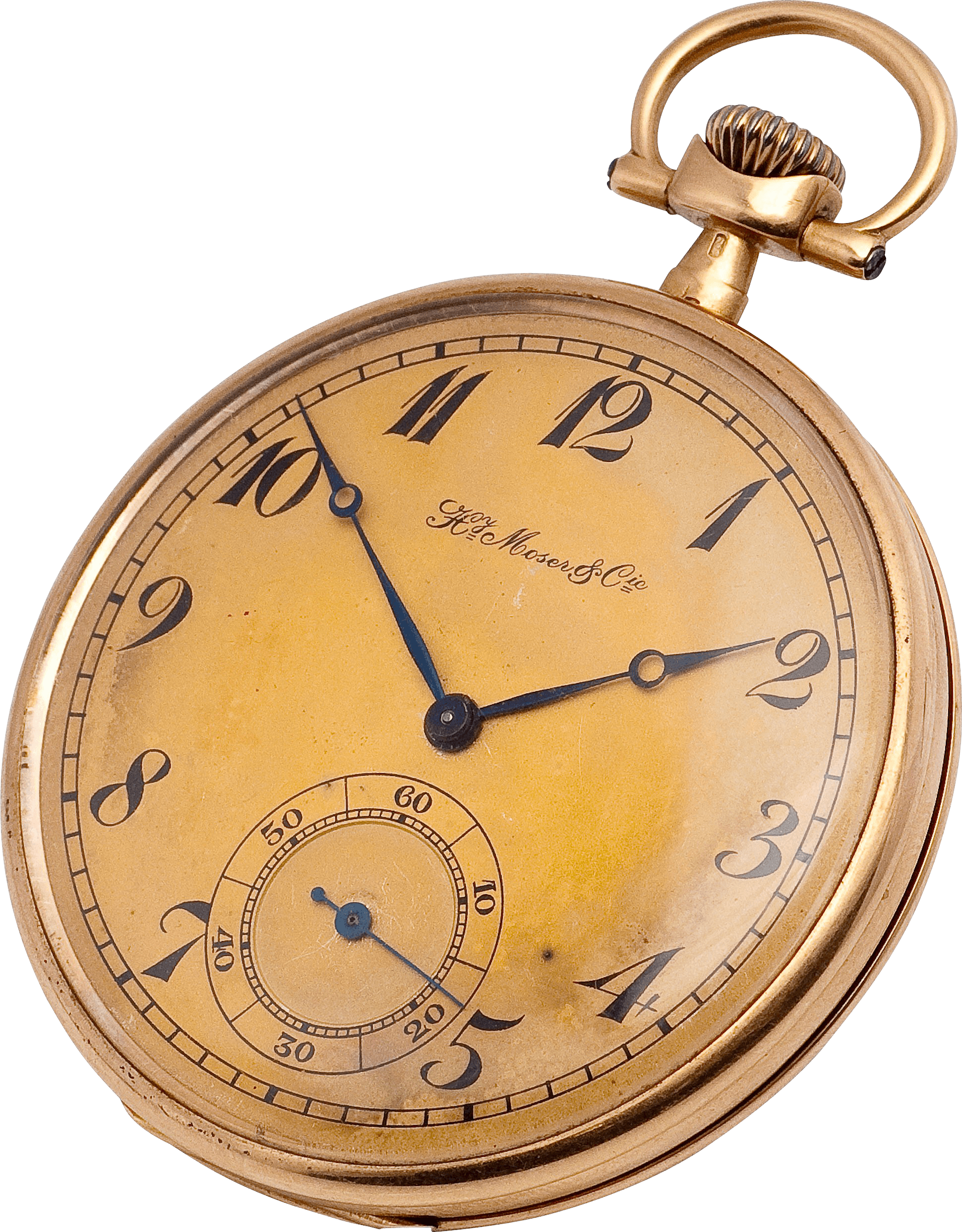 Old wall clock transparent png stickpng copper gold pocket watch clock amipublicfo Choice Image