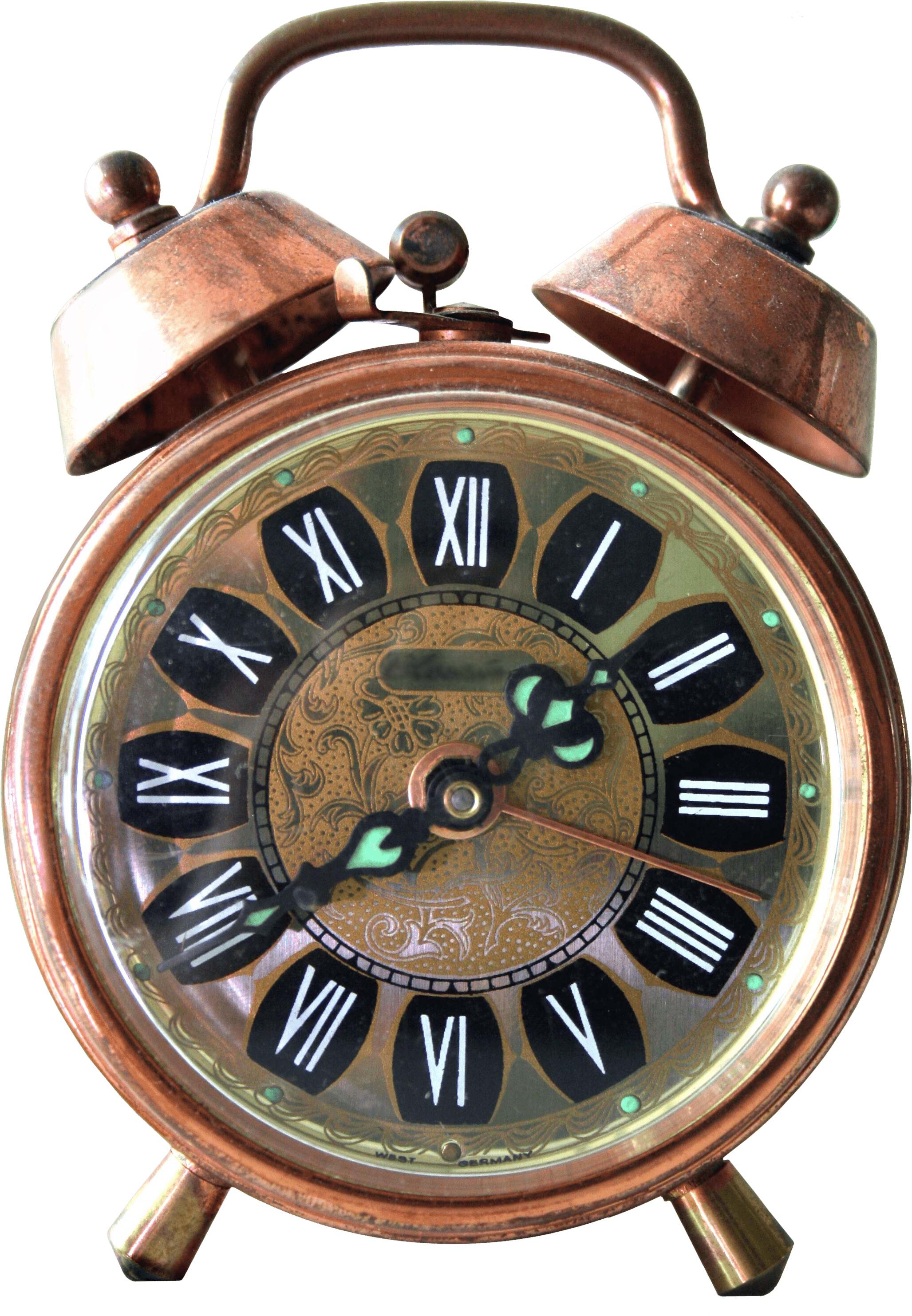 Vintage Alarm Clock Transparent PNG