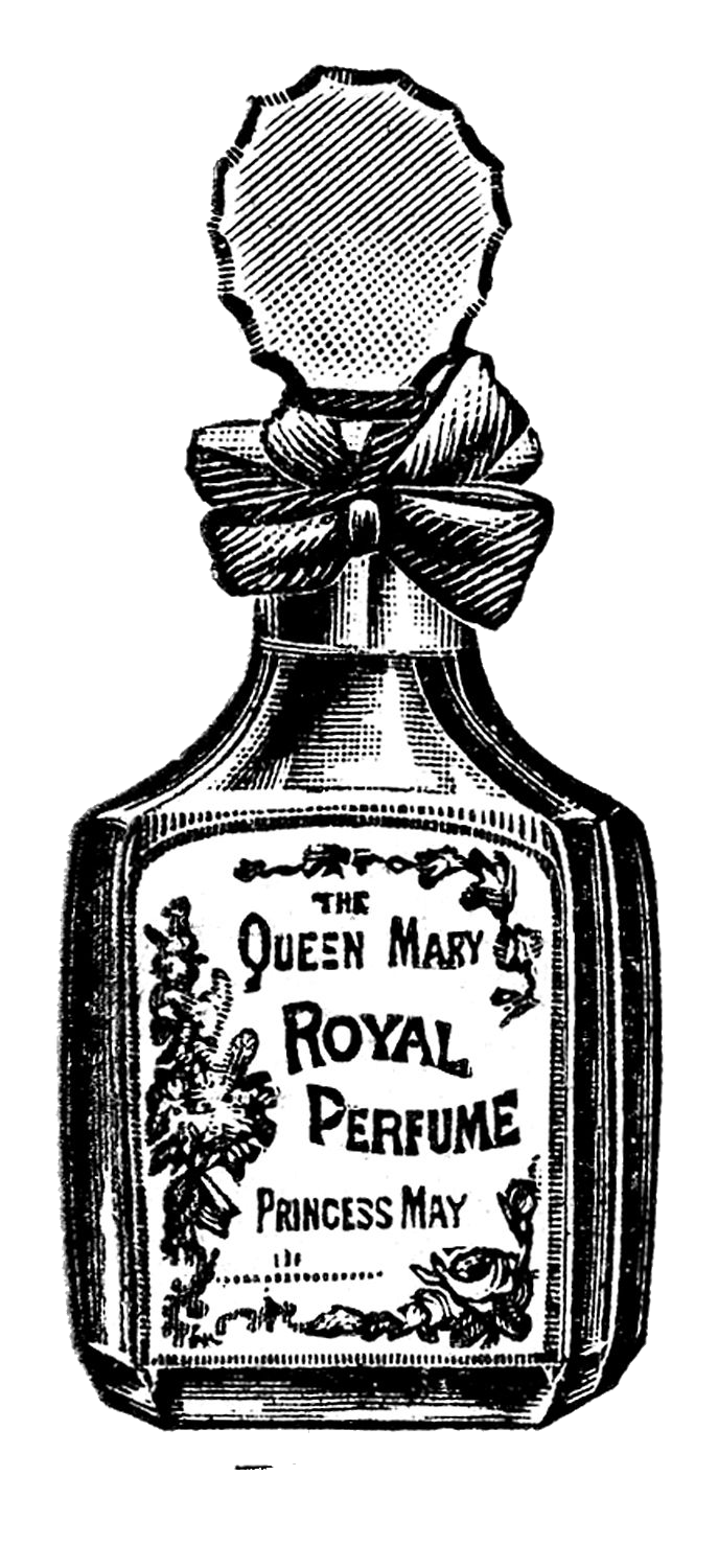 Vintage Perfume Bottle Transparent PNG