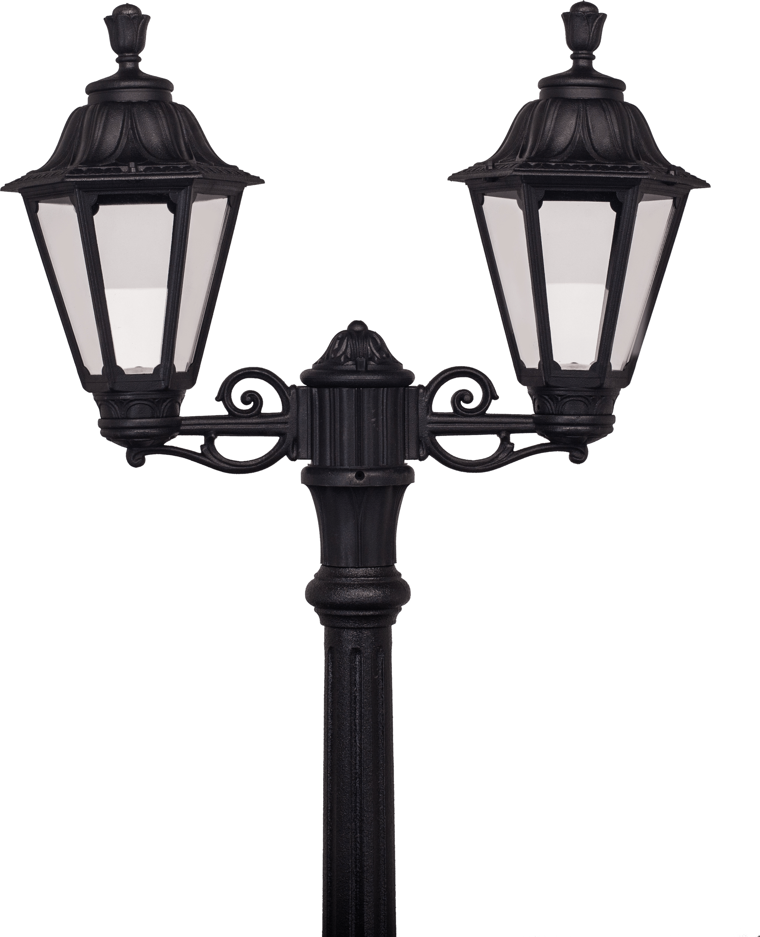 Double Streetlight transparent PNG - StickPNG for Street Lamp Png  174mzq