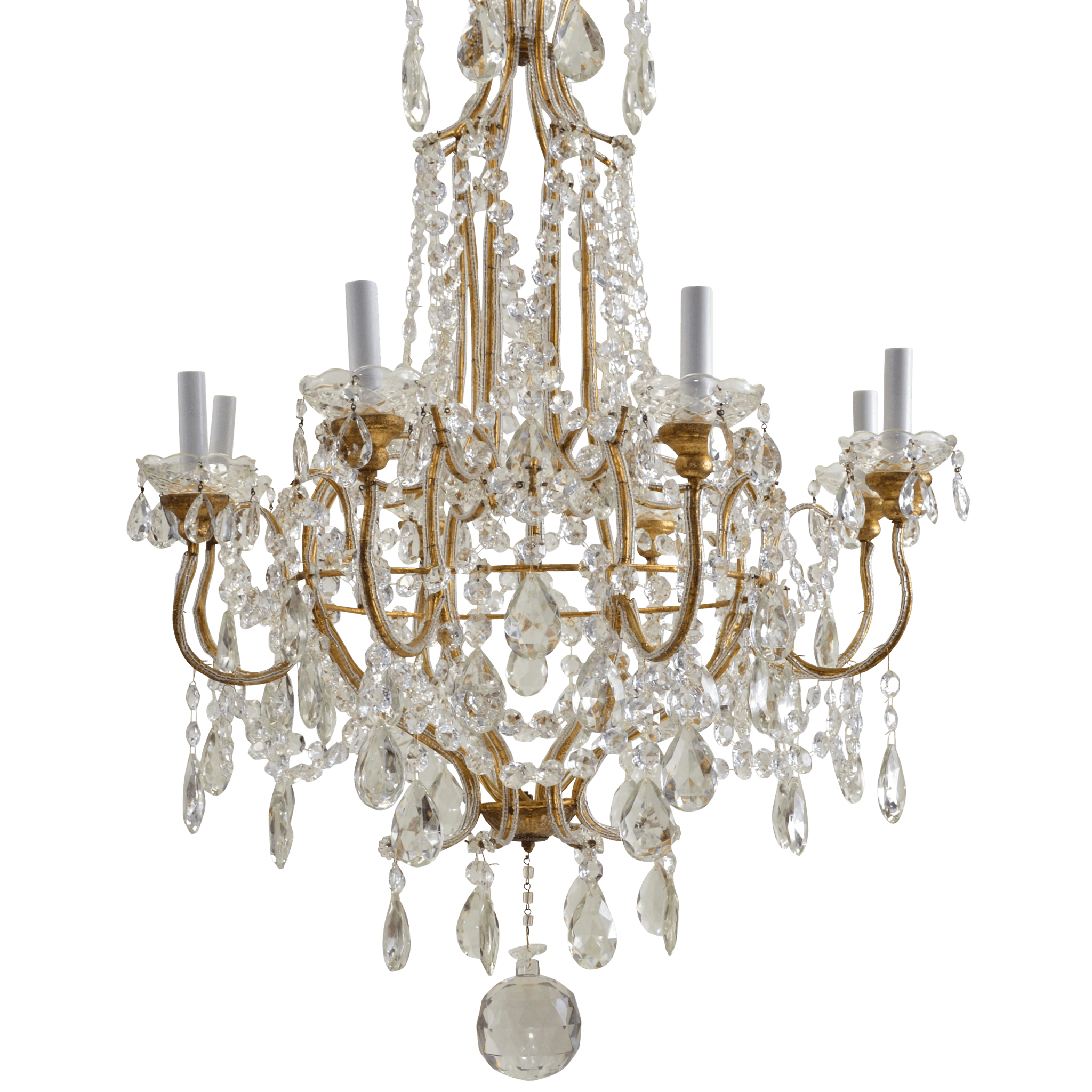 Crystal Vintage Chandelier transparent PNG StickPNG
