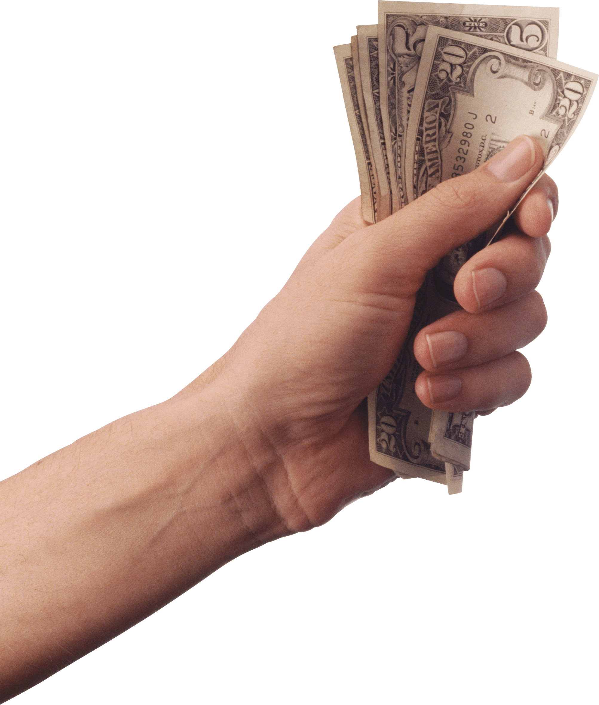 Hand Holding Cash Money transparent PNG - StickPNGHolding Money In Hand