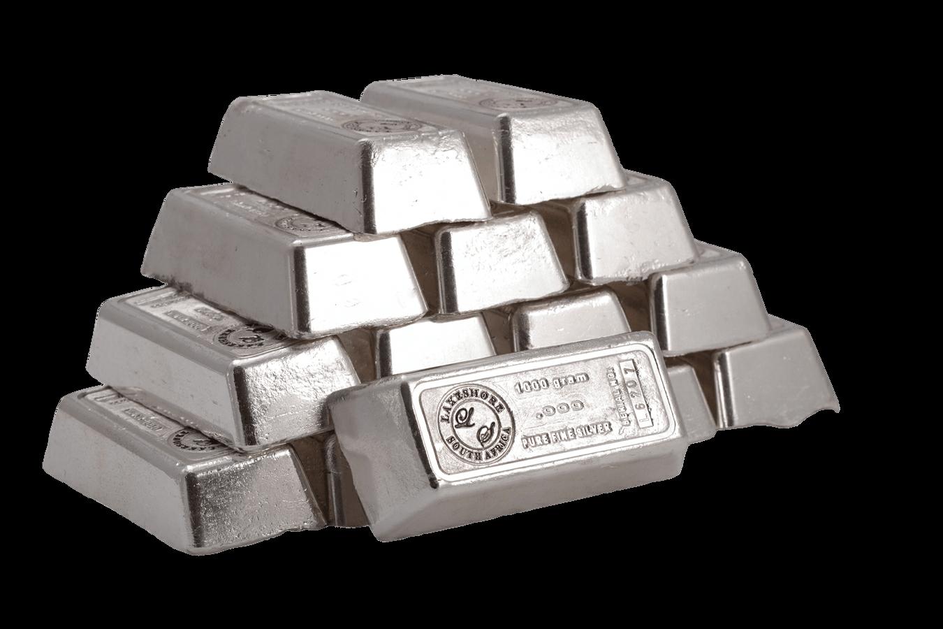 Silver Ingots Transparent Png Stickpng