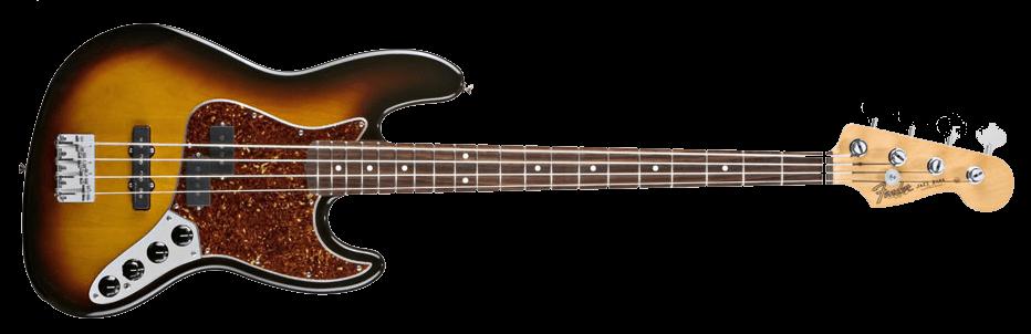 Bass Guitar Fender Transparent PNG