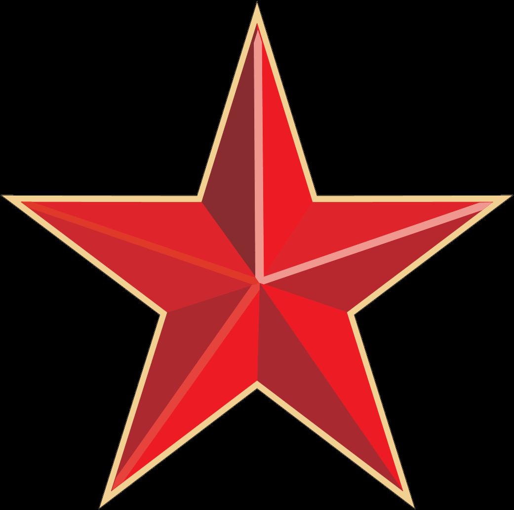 Resultado de imagen de estrellas roja png