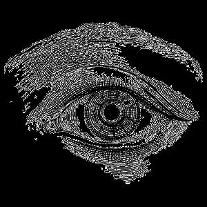Dessin D Un Oeil En Noir Et Blanc Png Transparents Stickpng