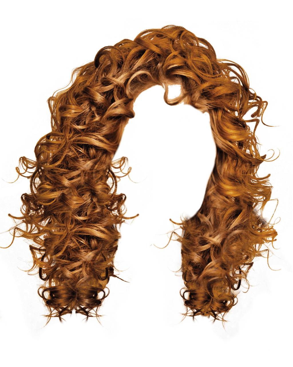 Curly Women Hair Transparent Png Stickpng