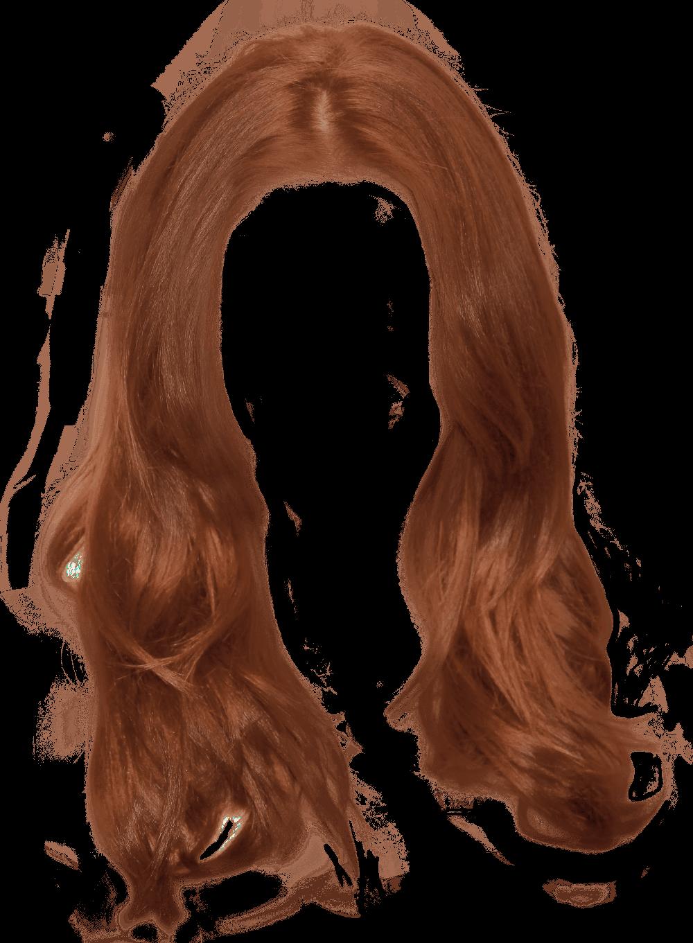 Ginger Long Women Hair Transparent Png Stickpng