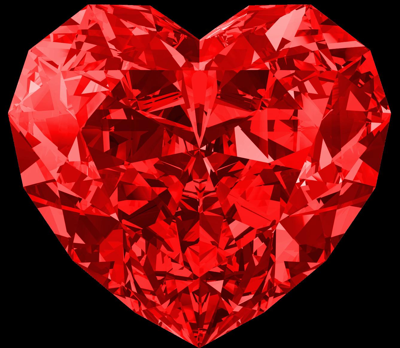 Complex Diamond Heart on No Tumblr Transparent Hearts
