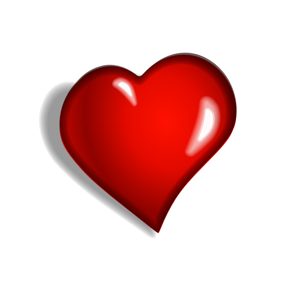 Heart transparent. Clipart side png stickpng