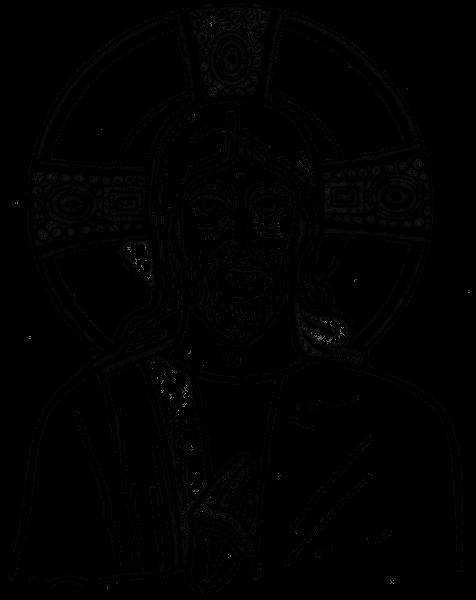 Line Drawing Jesus Face : Jesus drawing transparent png stickpng