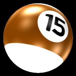 Billiard Ball 15 Transparent Png Stickpng