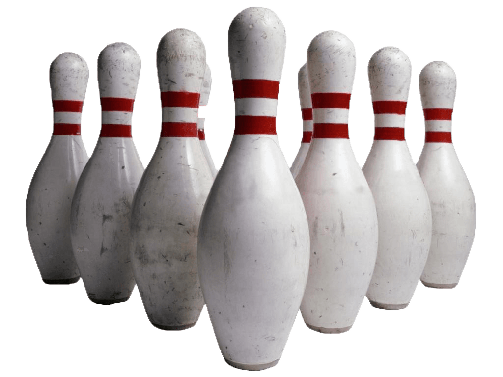 bowling pins transparent png stickpng