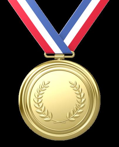 gold medal transparent png stickpng