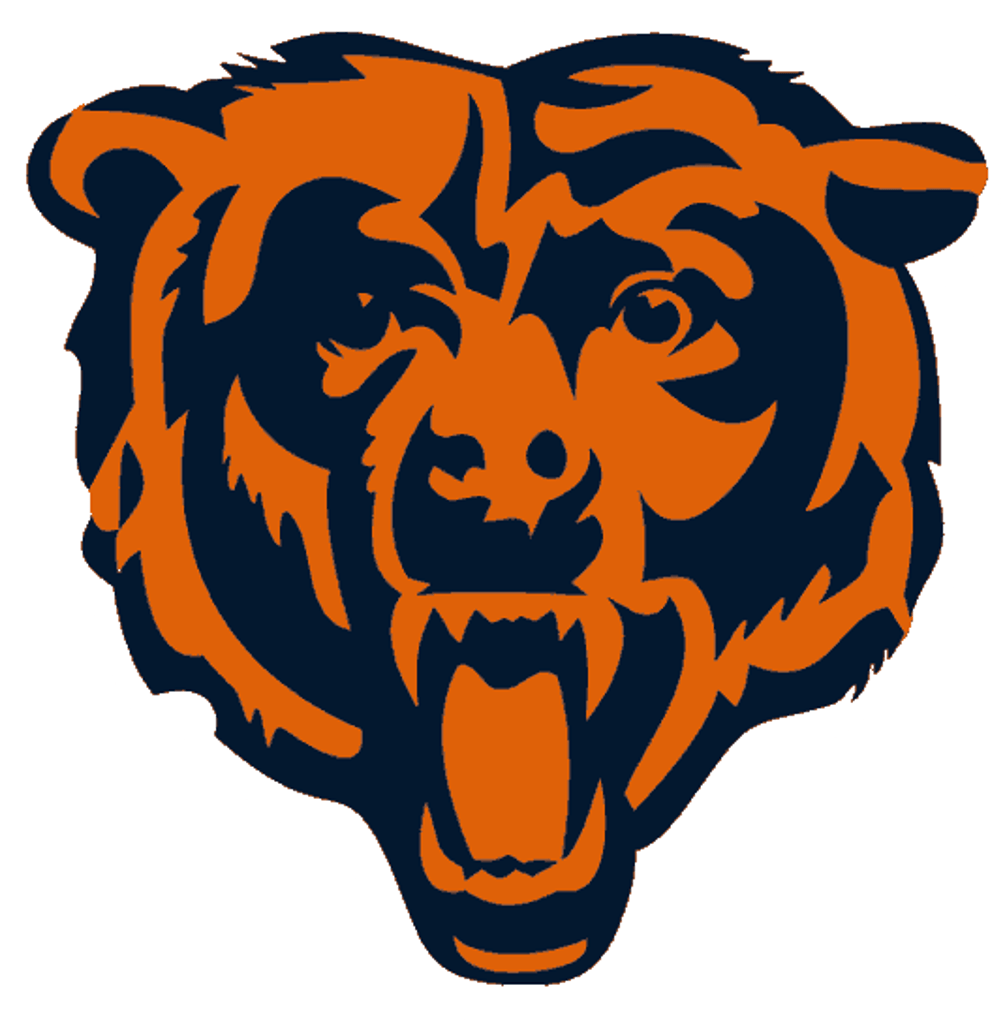chicago bears logo transparent png stickpng rh stickpng com