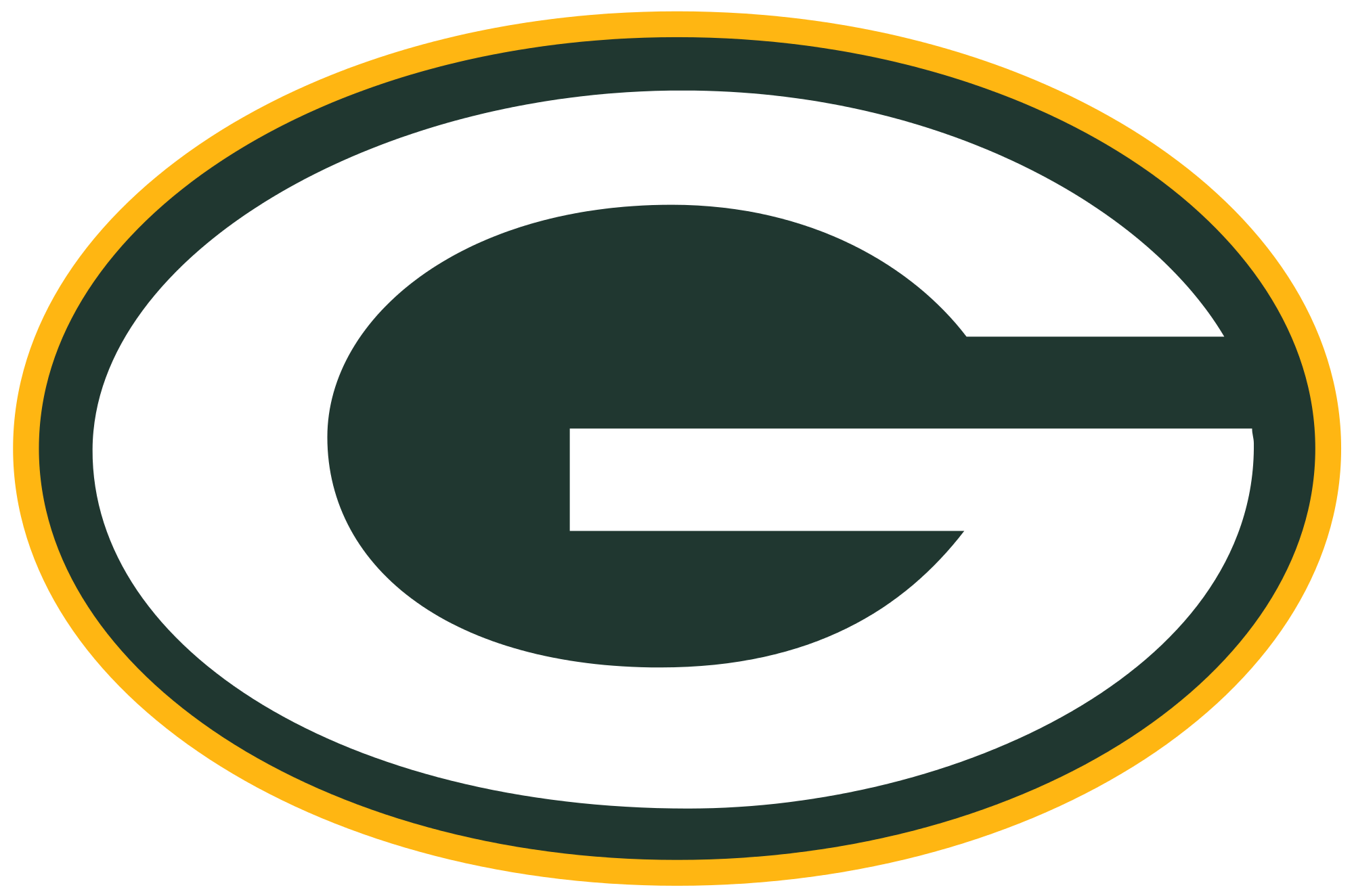 Green Bay Packers Logo Transparent Png Stickpng