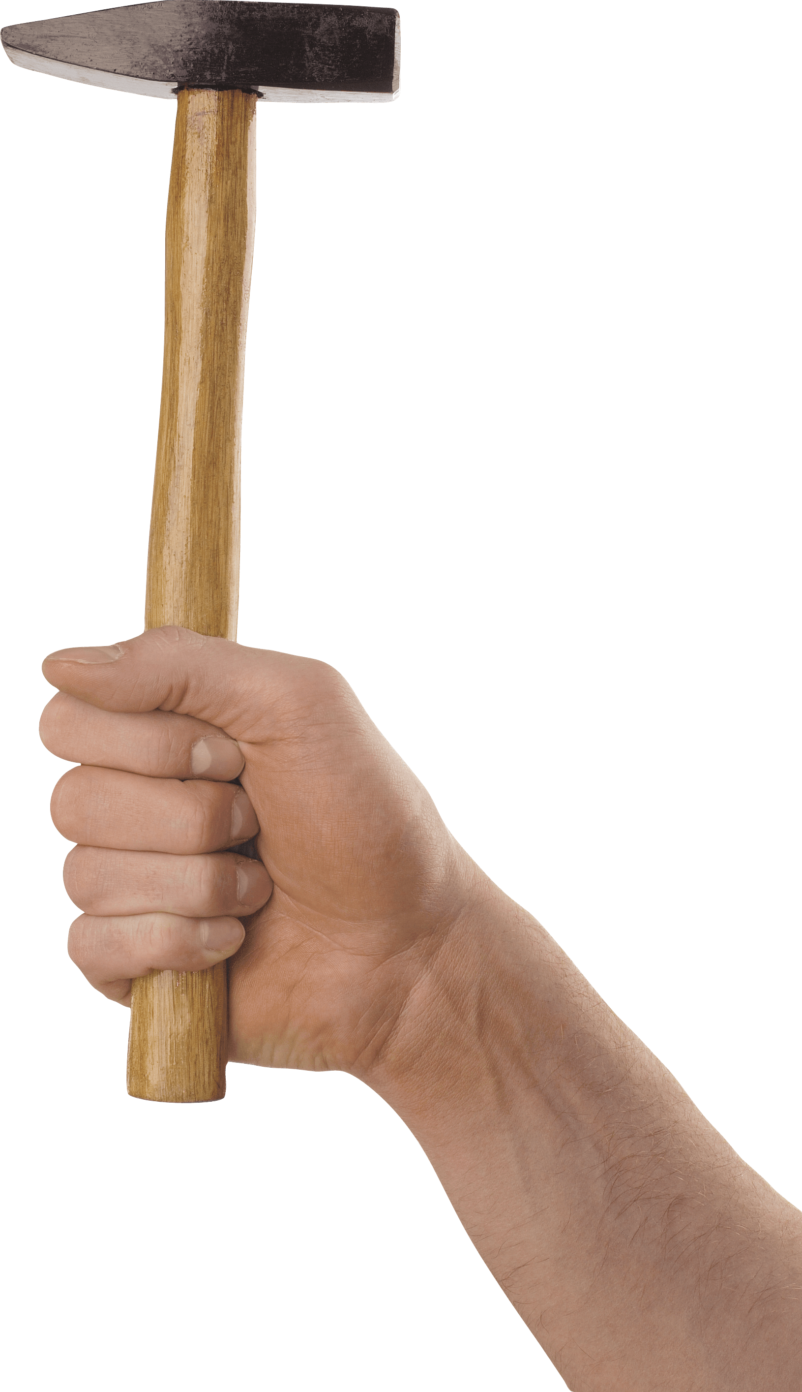 Hand Holding Stick ~ Hand holding long hammer transparent png stickpng