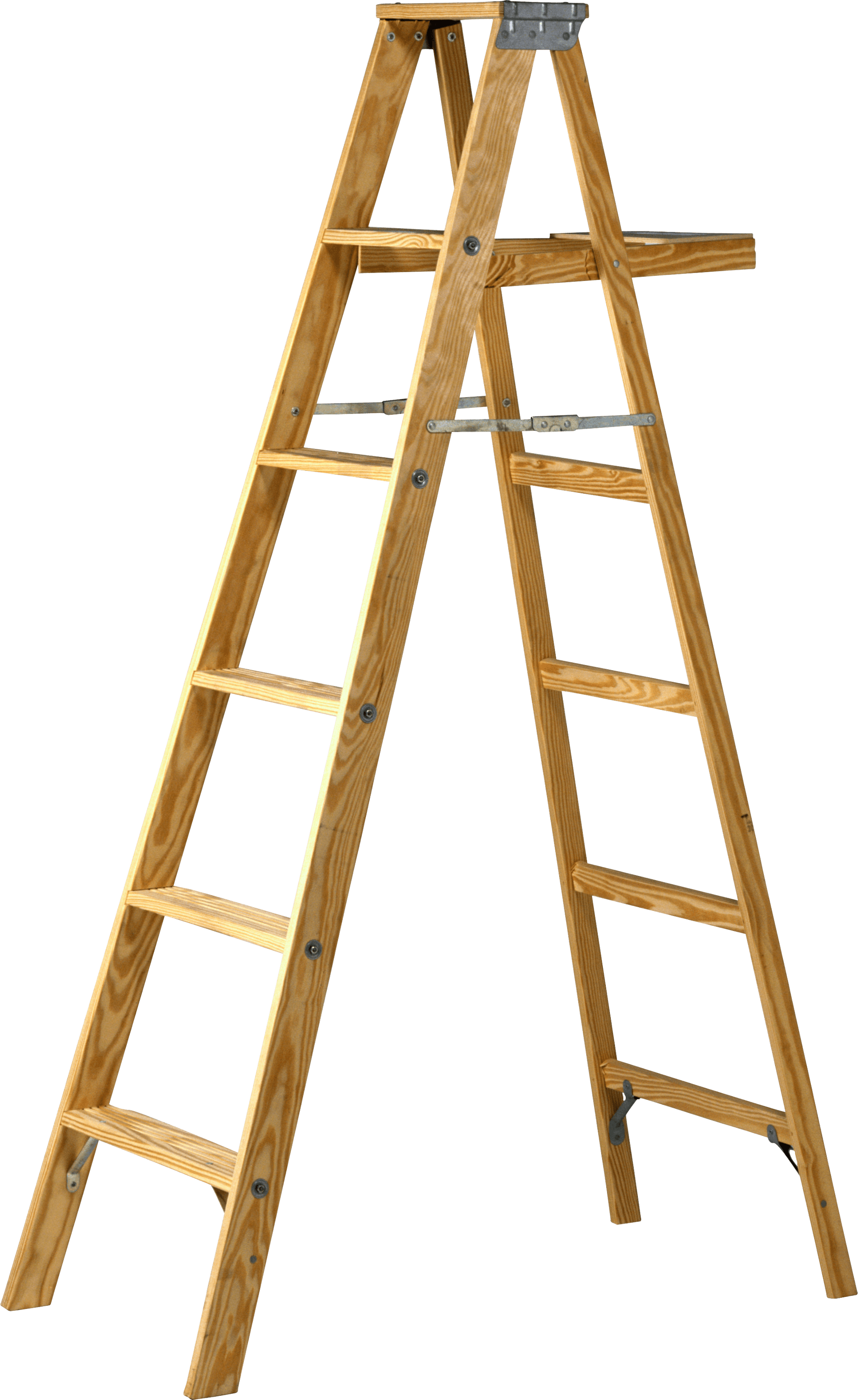 Double Wood Ladder Transparent Png Stickpng
