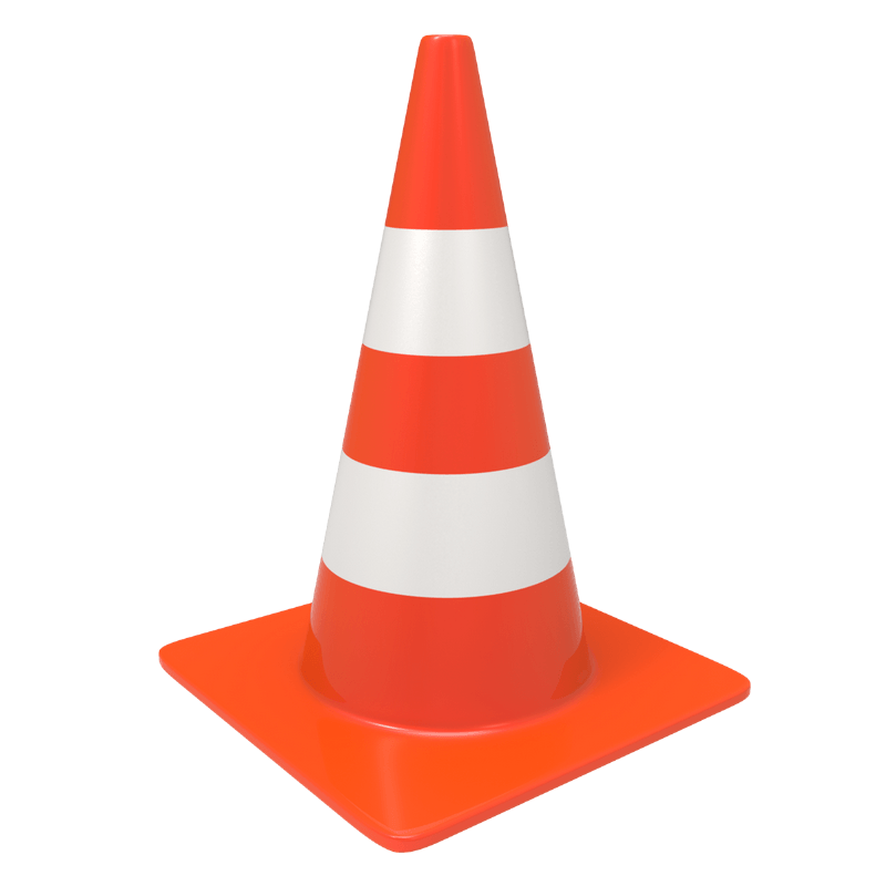 Traffic Cone transparent PNG - - 59.0KB