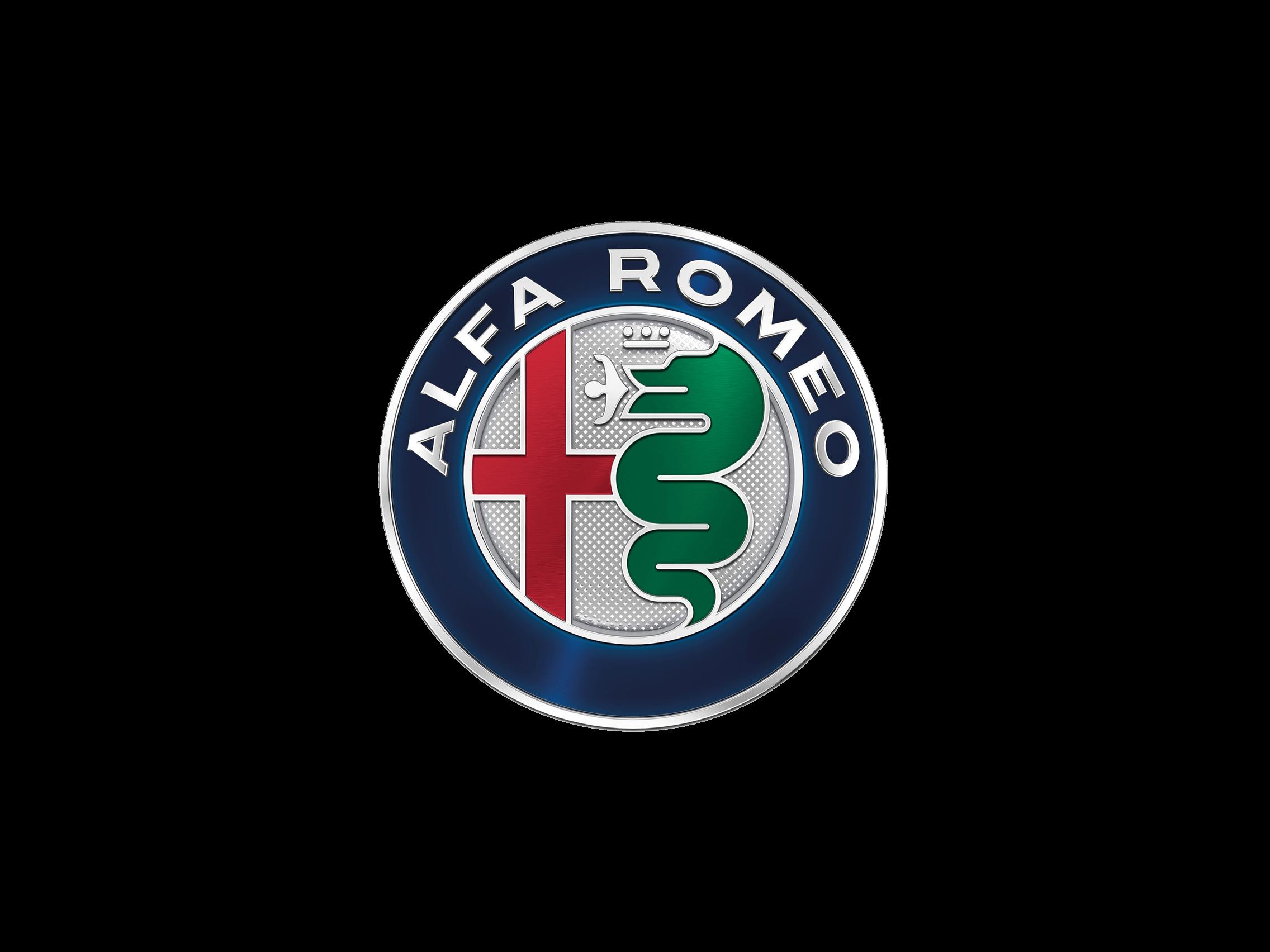 alfa romeo metal logo transparent png - stickpng