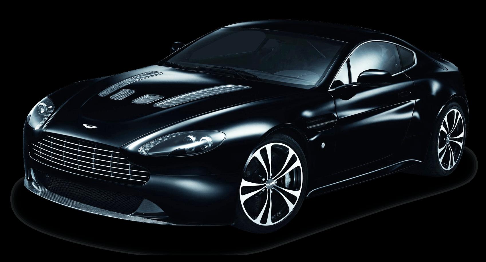 Black Aston Martin Transparent Png Stickpng