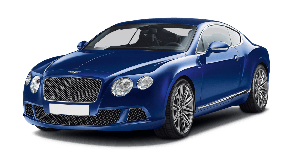 Blue Bentley Transparent Png Stickpng
