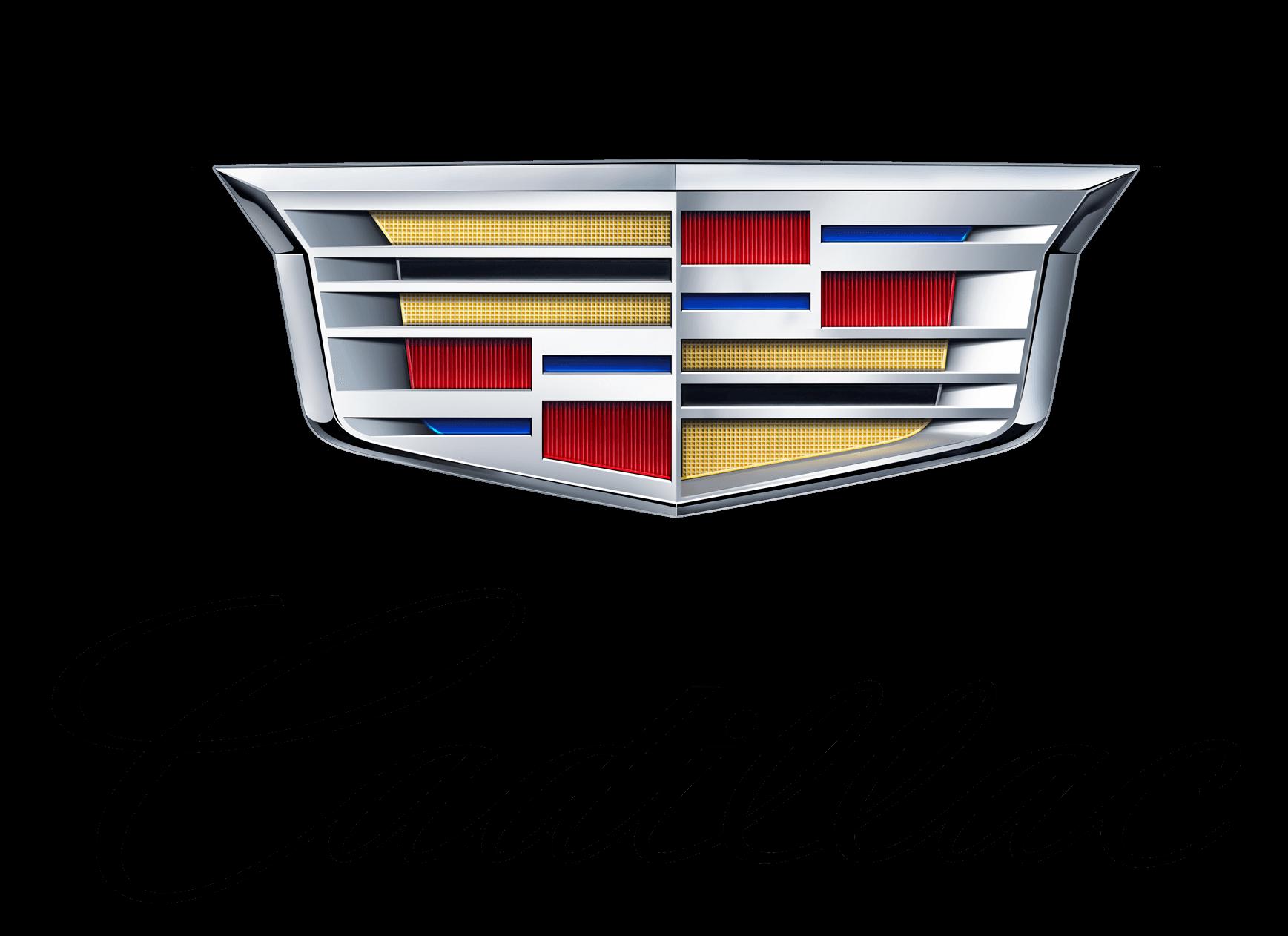 Cadillac Logo With Text Transparent Png Stickpng