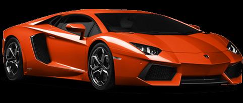 Orange Lamborghini Transparent Png Stickpng
