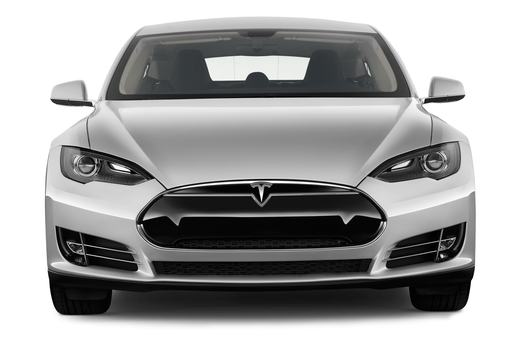 Tesla model s transparent