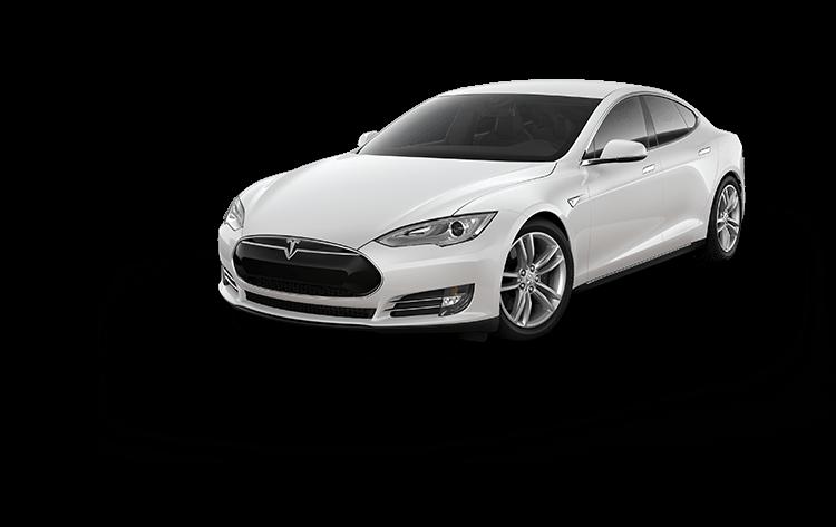 Tesla model s transparent