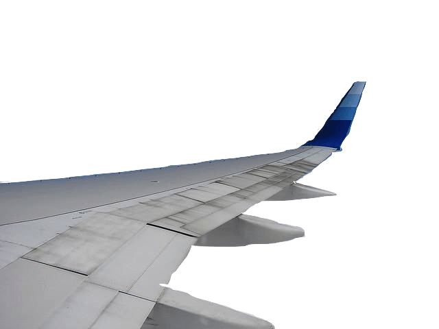 Plane Wing transparent PNG - StickPNG