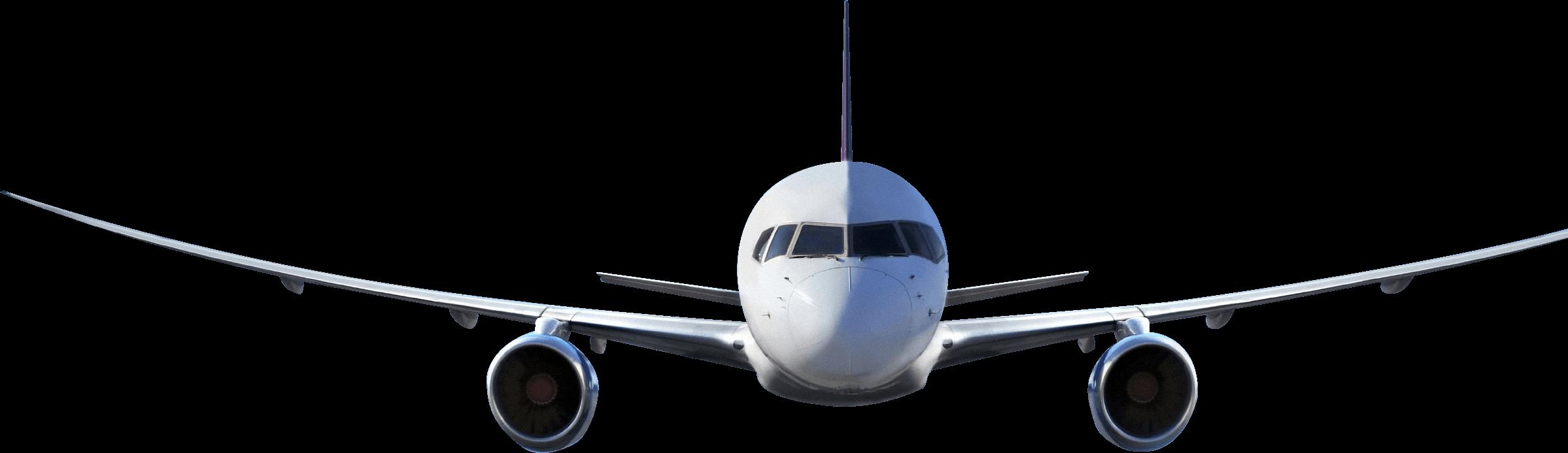 plane front transparent png stickpng